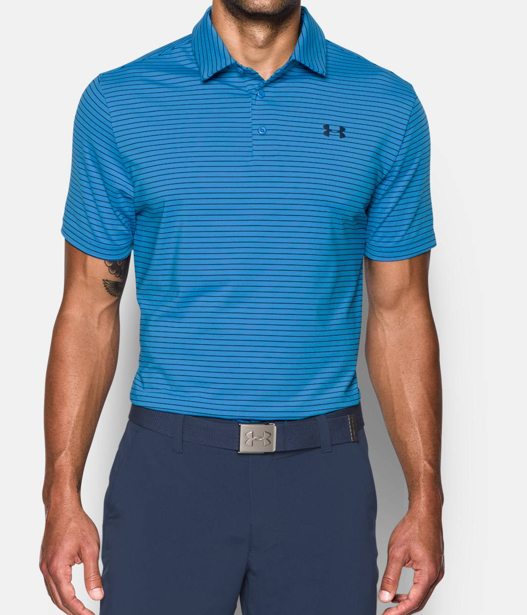 Men 39 s ua playoff polo under armour us for Under armour 3xl polo shirts