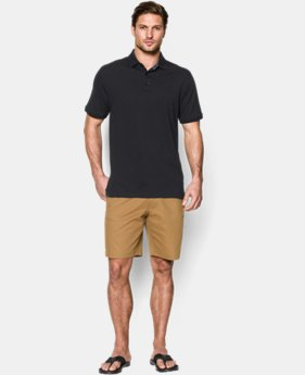 Men's UA Performance Cotton Pique Polo  1 Color $36.74 to $48.99