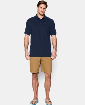 Men's UA Performance Cotton Pique Polo   $48.99