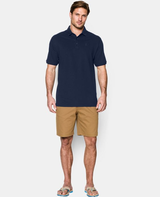 Men's UA Performance Cotton Pique Polo LIMITED TIME: FREE U.S. SHIPPING 1 Color $36.74 to $48.99