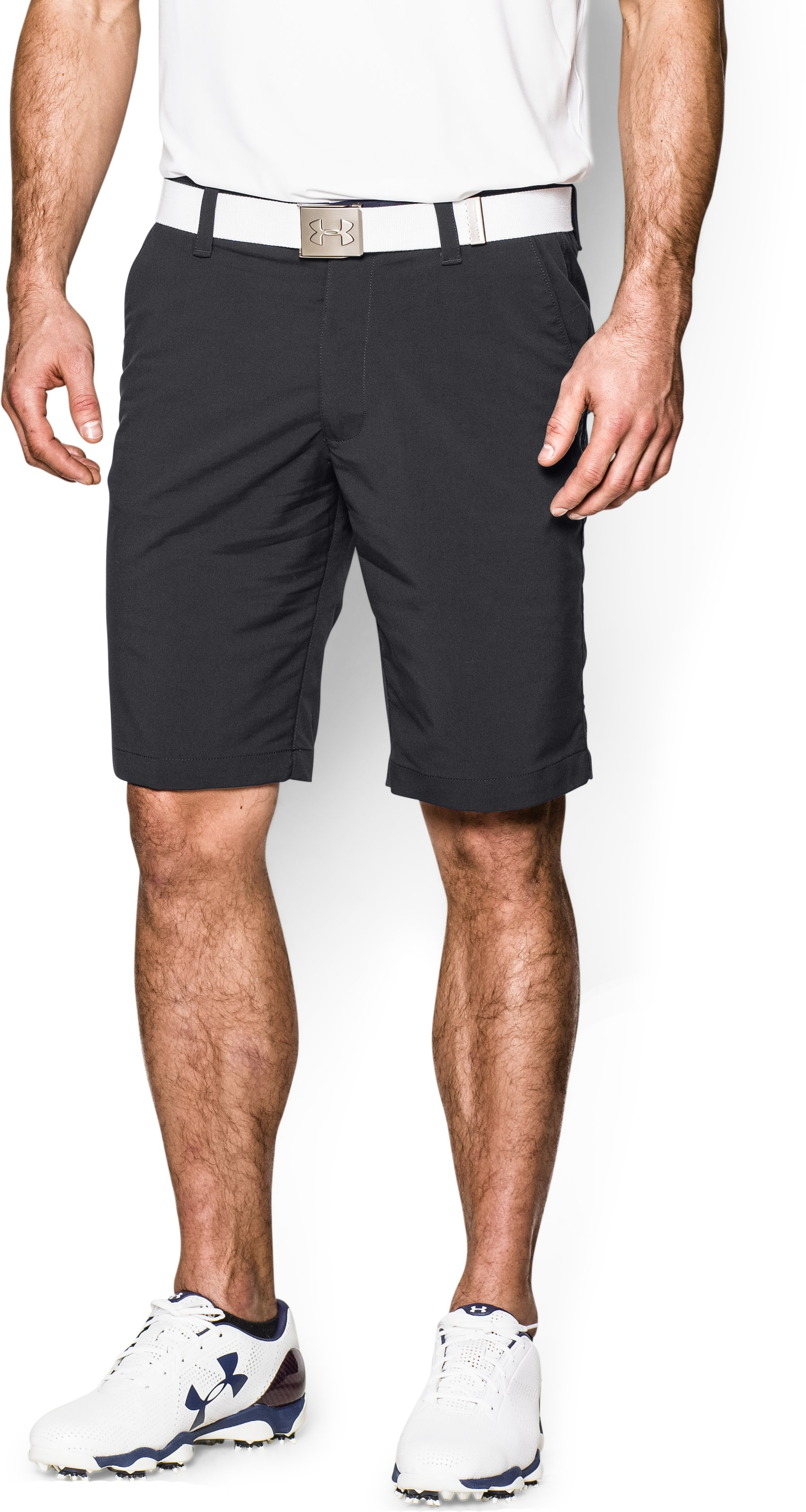Men's UA Match Play Shorts, Black , zoomed image