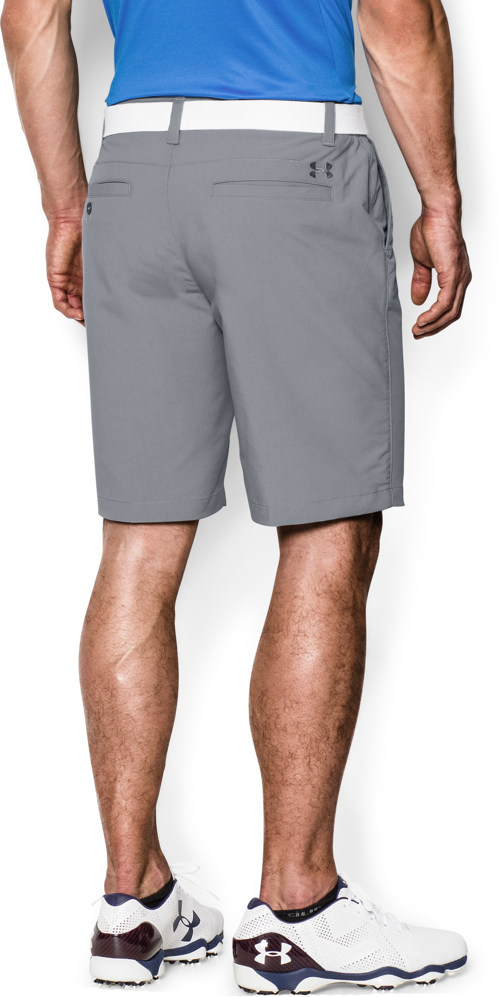 Men's UA Match Play Shorts, Steel, undefined