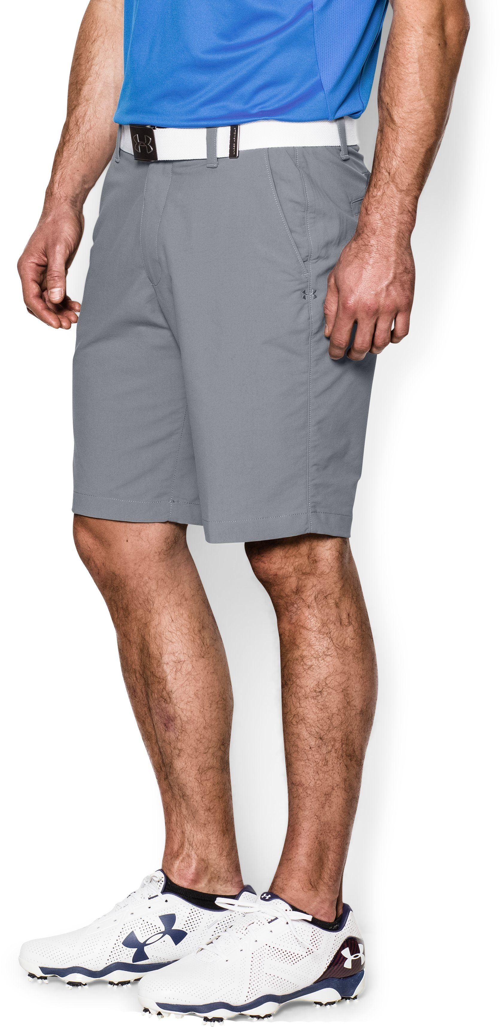 Men's UA Match Play Shorts, Steel