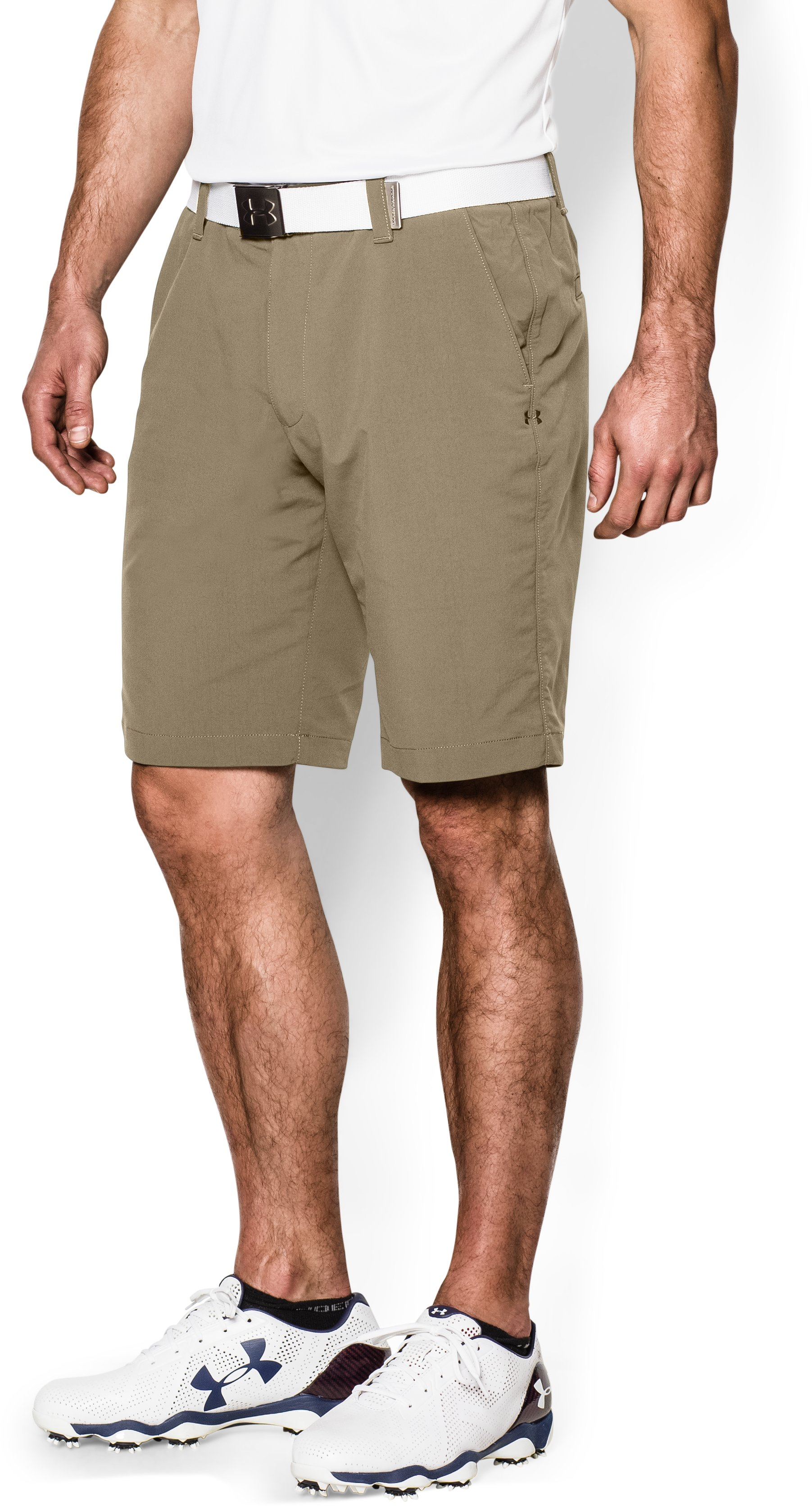 canvas shorts Men's UA Match Play Shorts Look feel nice...Great shorts!...Very pleased!