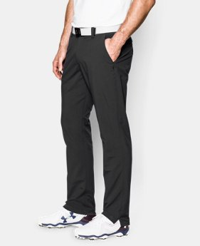 Best Seller  Men's UA Match Play Golf Pants – Tapered Leg LIMITED TIME: FREE SHIPPING 1 Color $89.99
