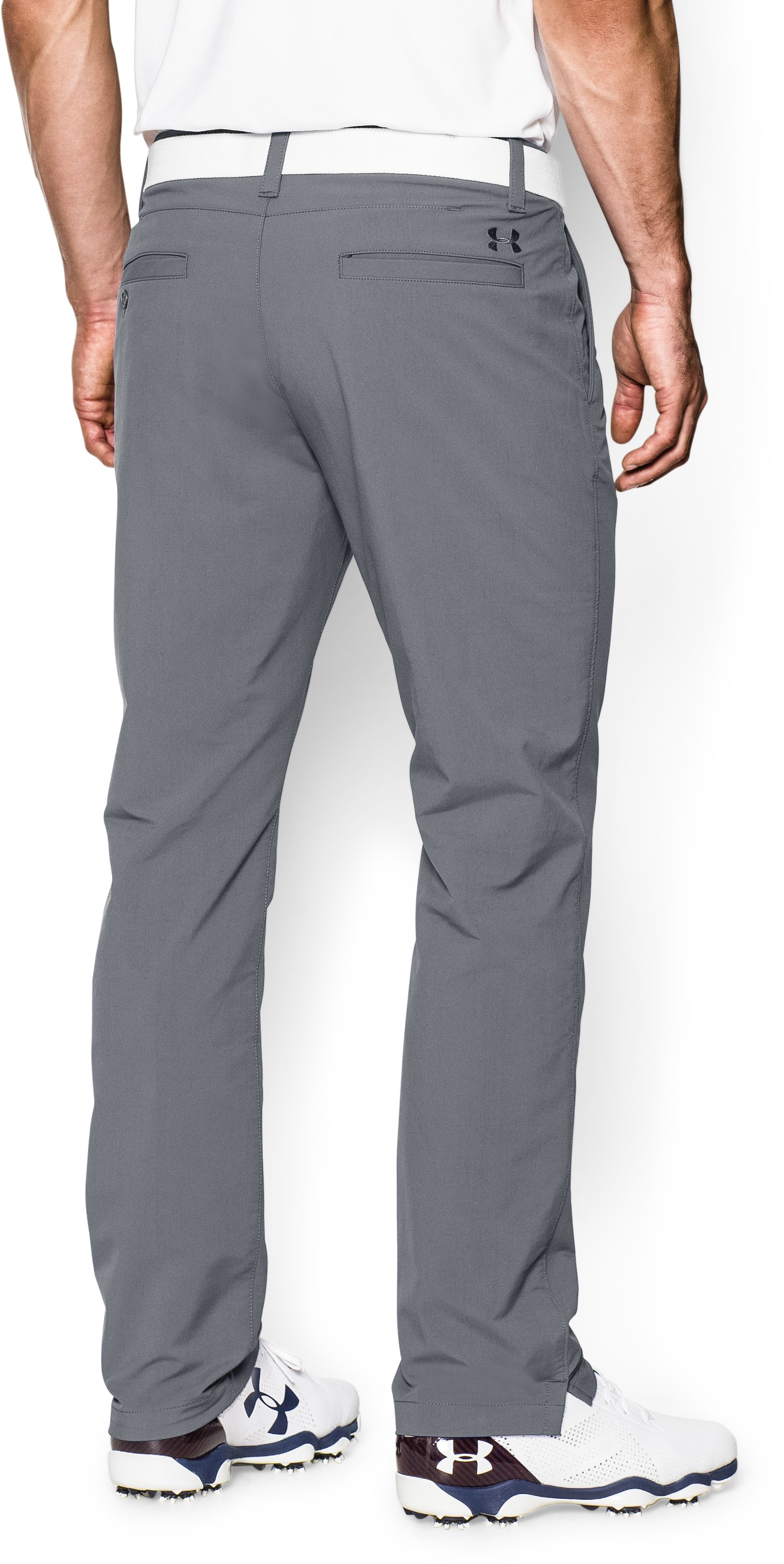Men's UA Match Play Golf Pants — Tapered Leg, Steel, undefined