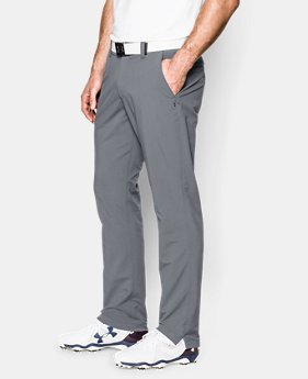 Men's UA Match Play Golf Pants — Tapered Leg  3 Colors $59.99