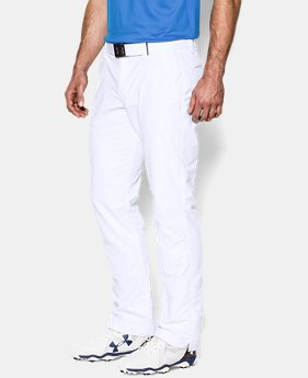 Best Seller  Men's UA Match Play Golf Pants – Tapered Leg   $89.99