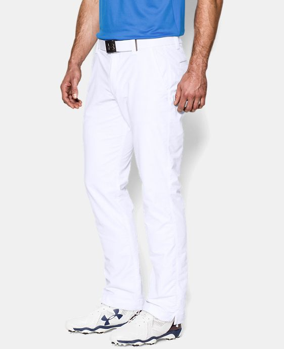 Best Seller  Men's UA Match Play Golf Pants – Tapered Leg LIMITED TIME: FREE SHIPPING  $89.99