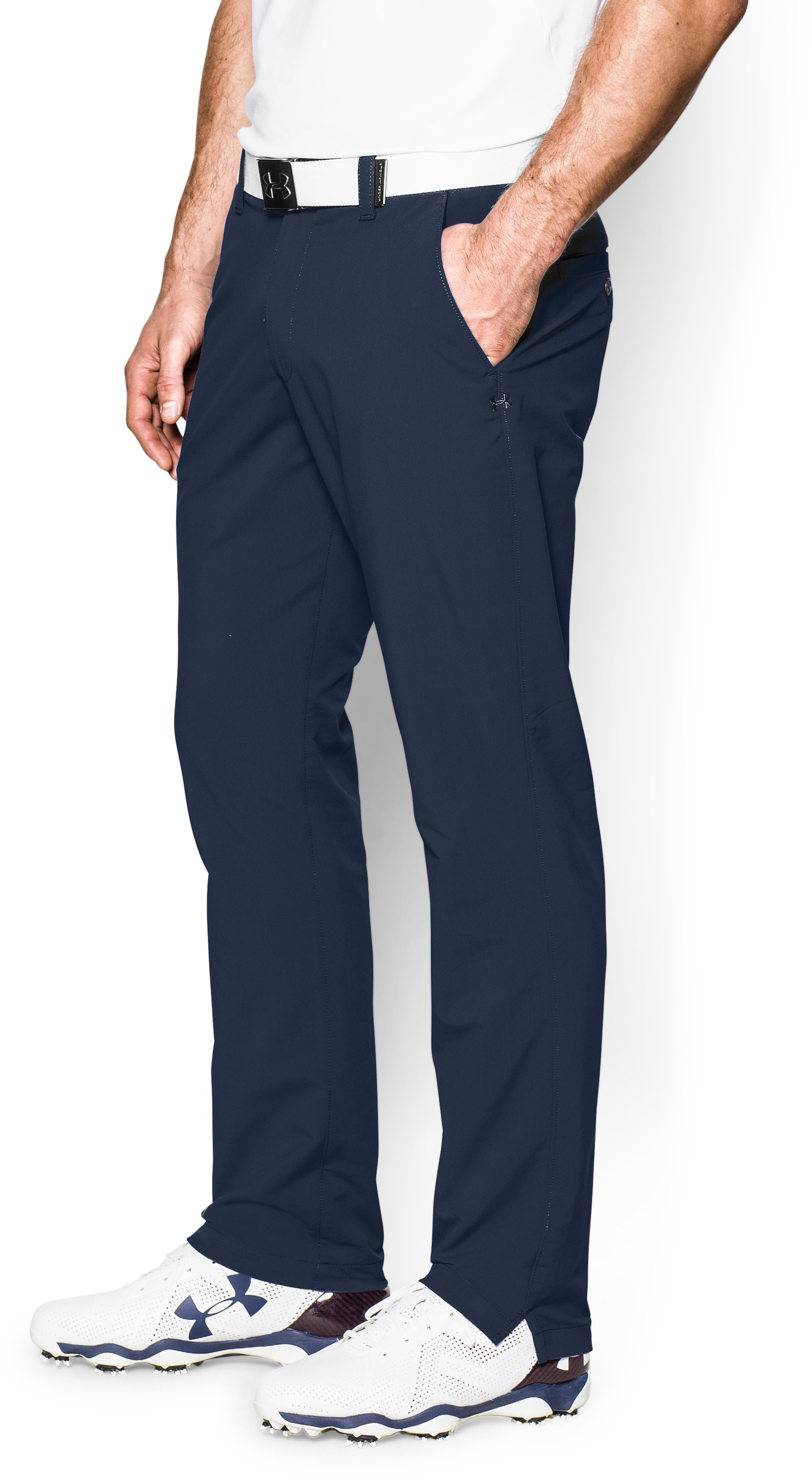 Men's UA Match Play Golf Pants – Tapered Leg, Academy, zoomed image
