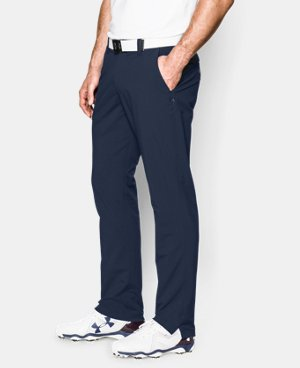 Best Seller  Men's UA Match Play Golf Pants – Tapered Leg  4 Colors $89.99