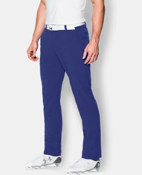Men's UA Match Play Golf Pants – Tapered Leg LIMITED TIME: FREE U.S. SHIPPING 1 Color $44.99 to $59.99
