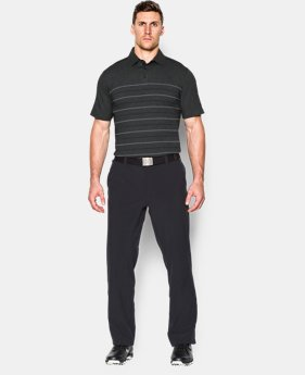 Men's UA Tips Stripe Polo  1 Color $74.99