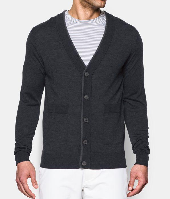 Men's UA Tips Cardigan Sweater