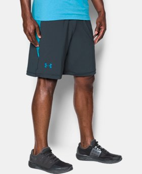 "Best Seller Men's UA Raid 10"" Shorts LIMITED TIME OFFER 4 Colors $20.99"
