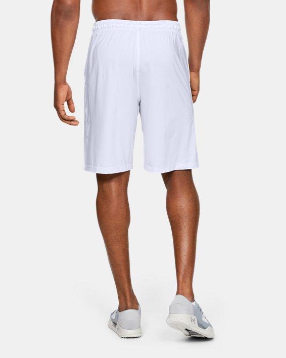 """Men's UA Raid 10"""" Shorts, White, pdpMainDesktop image number 5"""