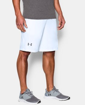 "Best Seller Men's UA Raid 10"" Shorts LIMITED TIME OFFER 1 Color $20.99"