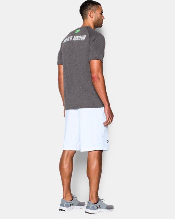 """Men's UA Raid 10"""" Shorts, White, pdpMainDesktop image number 1"""