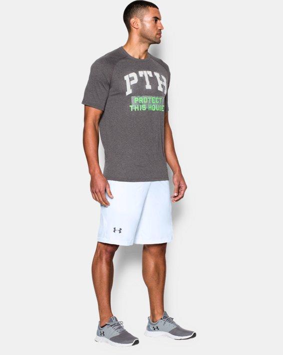 """Men's UA Raid 10"""" Shorts, White, pdpMainDesktop image number 2"""