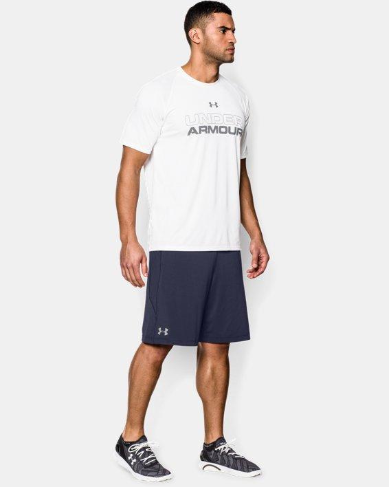"Men's UA Raid 10"" Shorts, Navy, pdpMainDesktop image number 2"