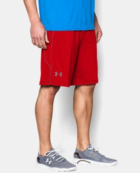 "Best Seller Men's UA Raid 10"" Shorts LIMITED TIME: FREE SHIPPING 1 Color $29.99"