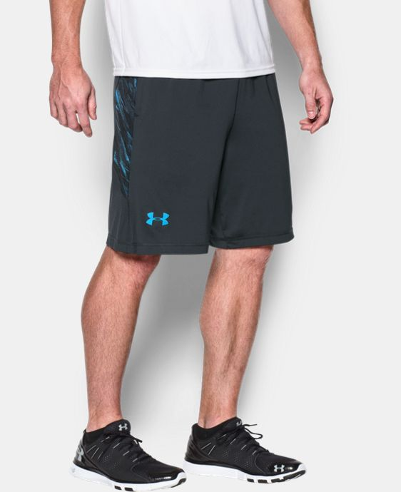 "Men's UA Raid Printed 10"" Shorts  1 Color $17.99 to $22.49"