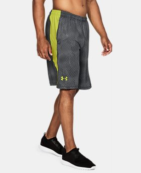 "Best Seller Men's UA Raid Printed 10"" Shorts LIMITED TIME OFFER 5 Colors $24.49"
