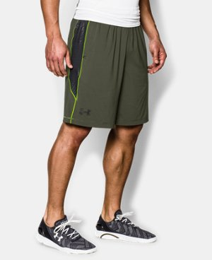 "Men's UA Raid Printed 10"" Shorts LIMITED TIME: FREE U.S. SHIPPING 1 Color $15.74 to $34.99"