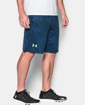 "Men's UA Raid Printed 10"" Shorts  1 Color $23.99"