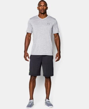 Men's UA Tech™ V-Neck T-Shirt LIMITED TIME OFFER + FREE U.S. SHIPPING 4 Colors $18.74