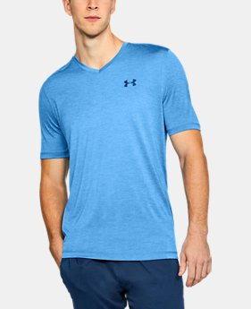 Men's UA Tech™ V-Neck T-Shirt FREE U.S. SHIPPING 1 Color Available
