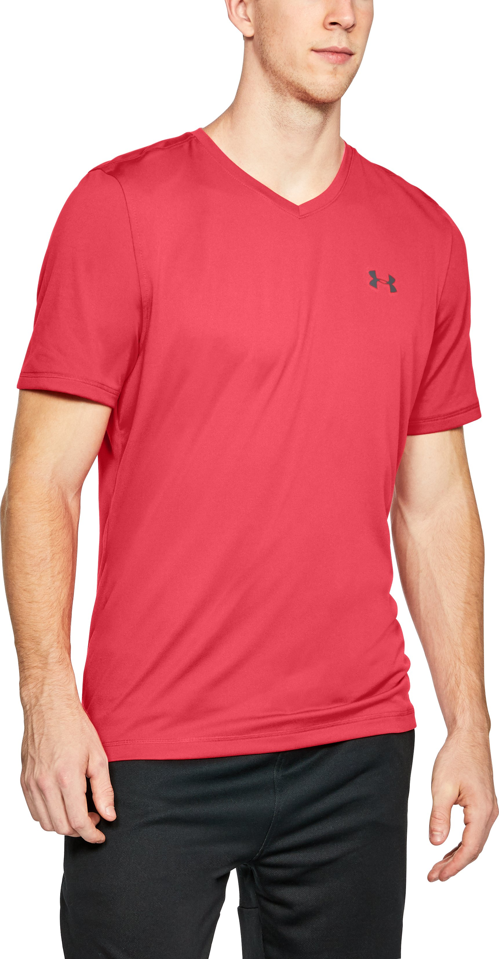 Men's UA Tech™ V-Neck T-Shirt, Pierce