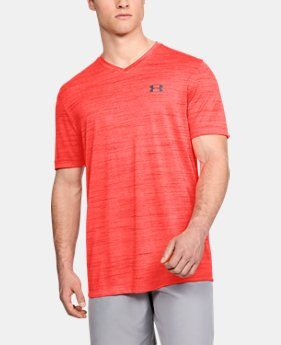 Best Seller Men's UA Tech™ V-Neck T-Shirt FREE U.S. SHIPPING 1  Color Available $24.99
