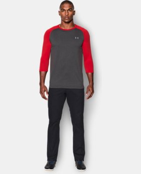 Men's UA Tech™ ¾ Sleeve T-Shirt