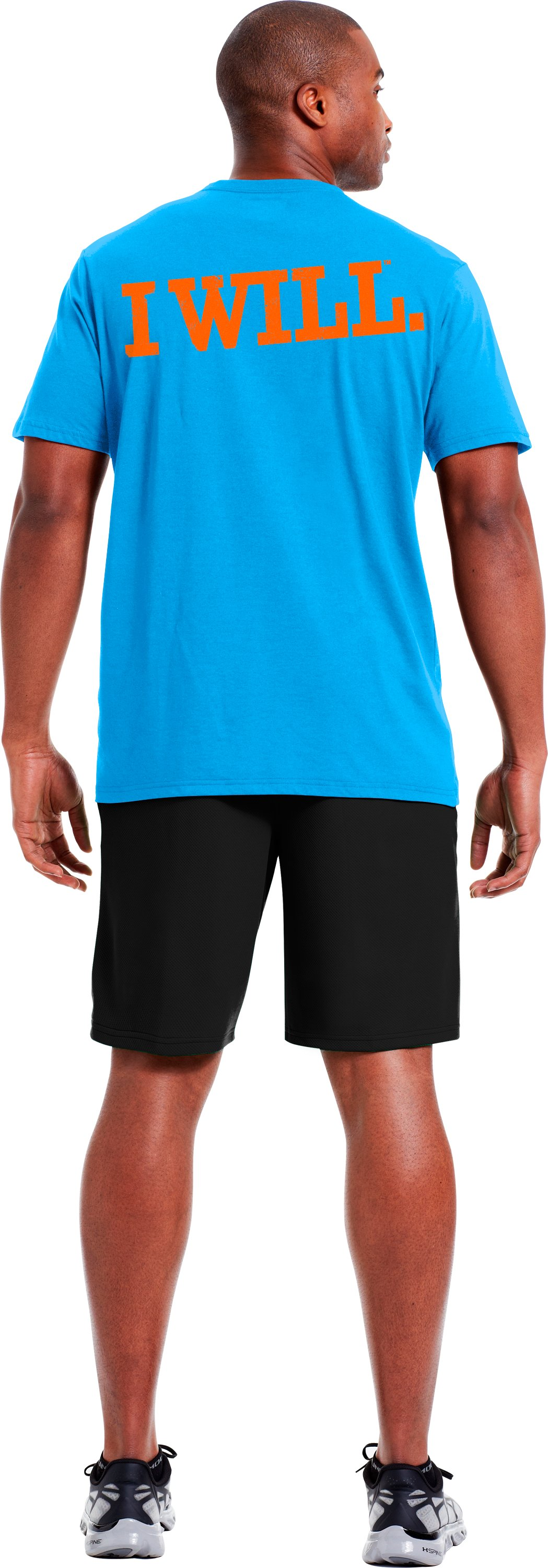 Men's UA Earn Your Spot T-Shirt, SNORKEL, Back