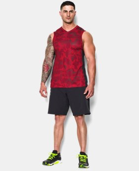 Men's UA Combine® Training Blur V-Neck Tank