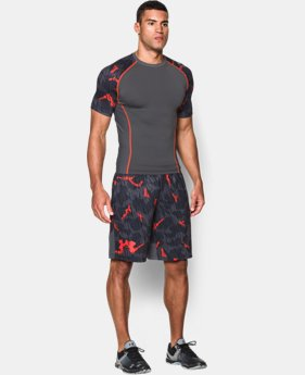 Men's UA Combine® Training Turret Camo Shorts