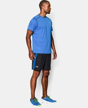 "Men's UA Launch Run 7"" Printed Shorts  7 Colors $20.24 to $26.99"