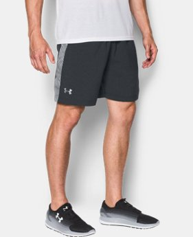 "Men's UA Launch Run 7"" Printed Shorts  1 Color $34.99"