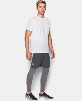 "Men's UA Launch Run 7"" Printed Shorts LIMITED TIME: FREE SHIPPING 1 Color $34.99"