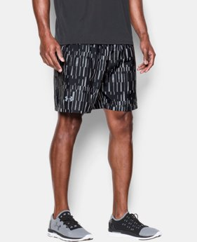 "Men's UA Launch Run 7"" Printed Shorts LIMITED TIME: FREE SHIPPING 1 Color $26.99 to $29.99"