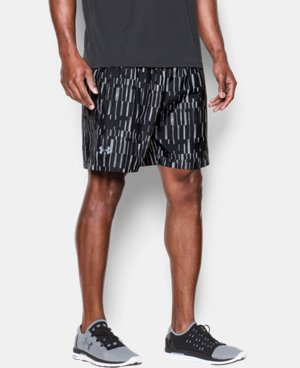 "Men's UA Launch Run 7"" Printed Shorts   $22.49"