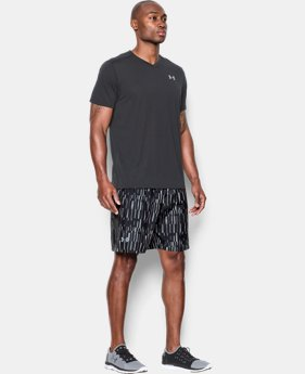"Men's UA Launch Run 7"" Printed Shorts  2 Colors $26.99"