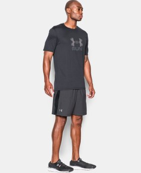 "Men's UA Launch Run 7"" Printed Shorts LIMITED TIME: FREE SHIPPING  $34.99"