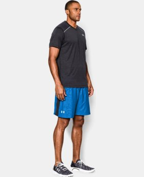 "Men's UA Launch Run 7"" Printed Shorts  3 Colors $25.99 to $26.99"