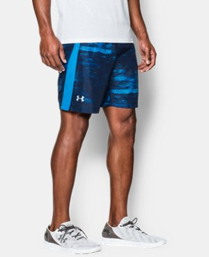 "Men's UA Launch Run 7"" Printed Shorts LIMITED TIME: FREE U.S. SHIPPING  $20.24 to $26.99"