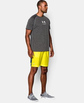 "Men's UA Launch Printed 7"" Run Shorts"