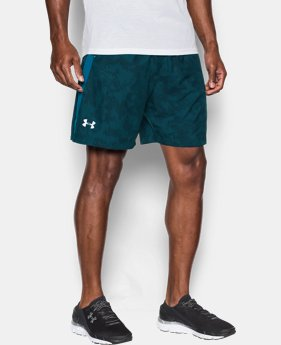 "Men's UA Launch Run 7"" Printed Shorts LIMITED TIME: FREE U.S. SHIPPING 1 Color $20.24 to $26.99"