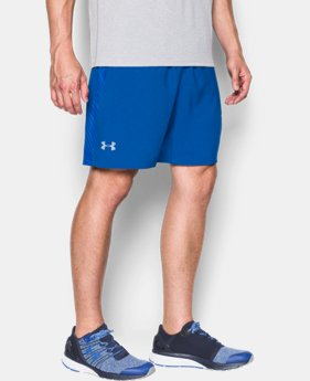 "Men's UA Launch Run 7"" Printed Shorts  3 Colors $26.99 to $29.99"