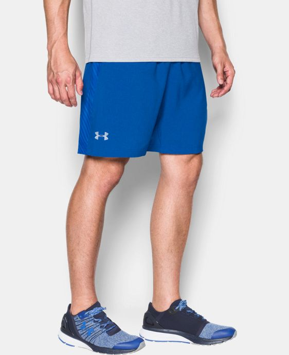 "Men's UA Launch Run 7"" Printed Shorts LIMITED TIME: FREE SHIPPING 2 Colors $26.99 to $29.99"